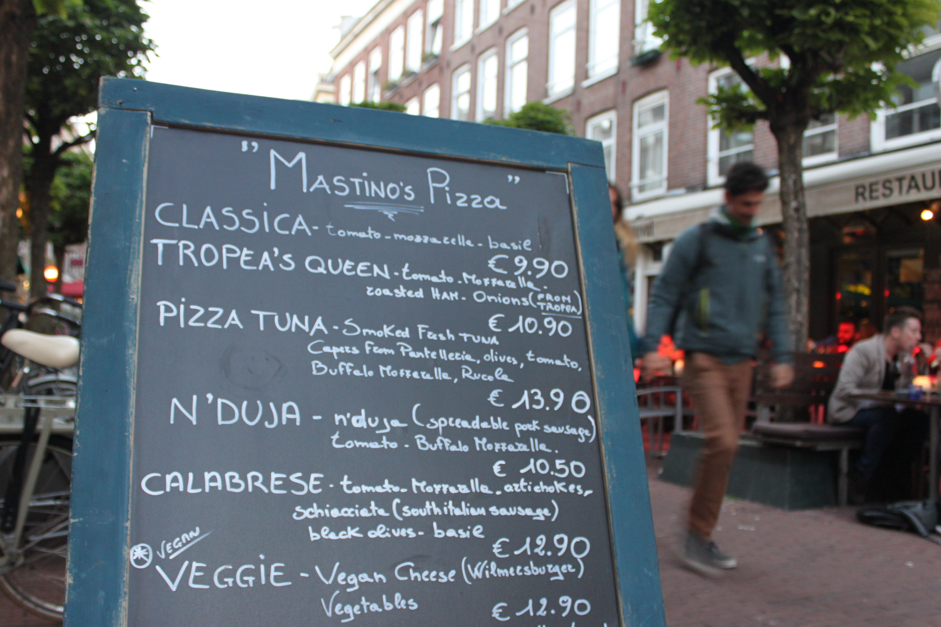 vegan pizza amsterdam