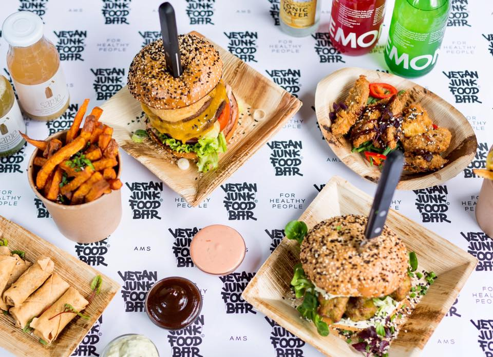 Three new vegan restaurants this spring vegan amsterdam for Bar food vegetarian