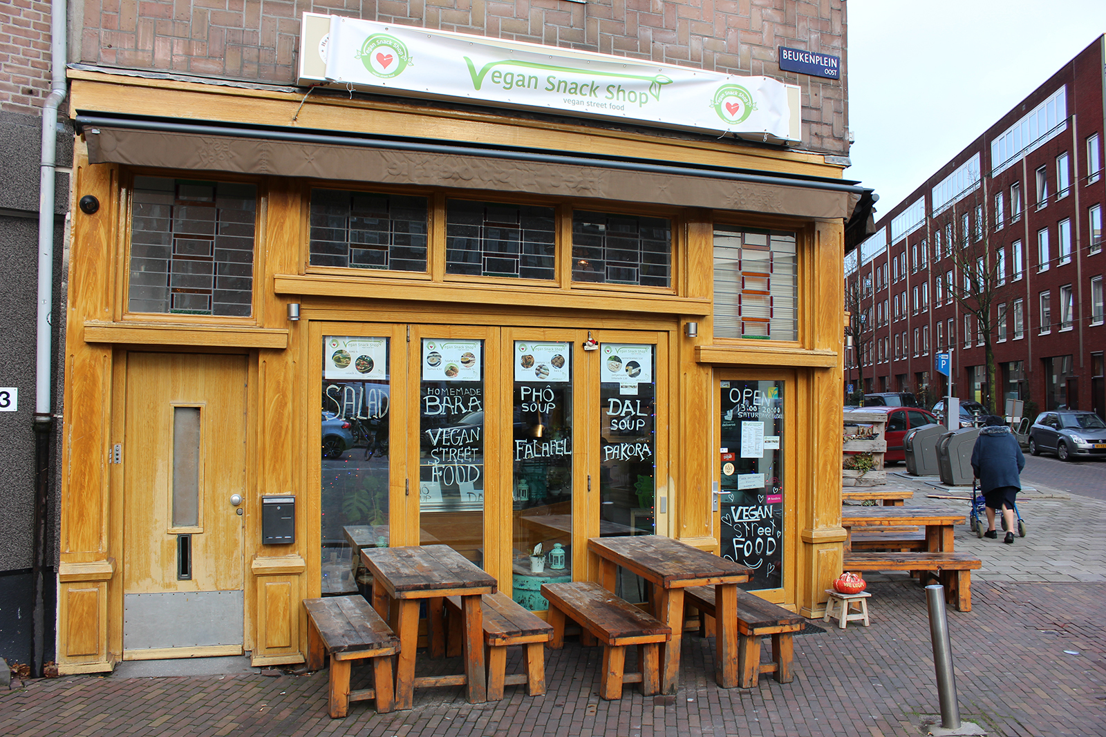 vegan snack shop amsterdam