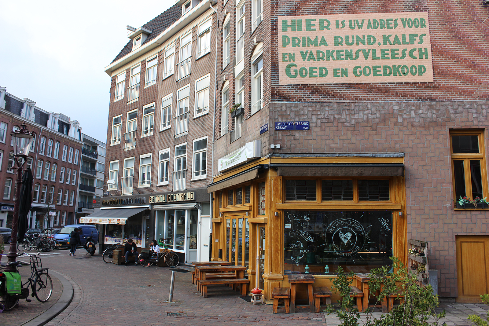 vegan snack shop amsterdam