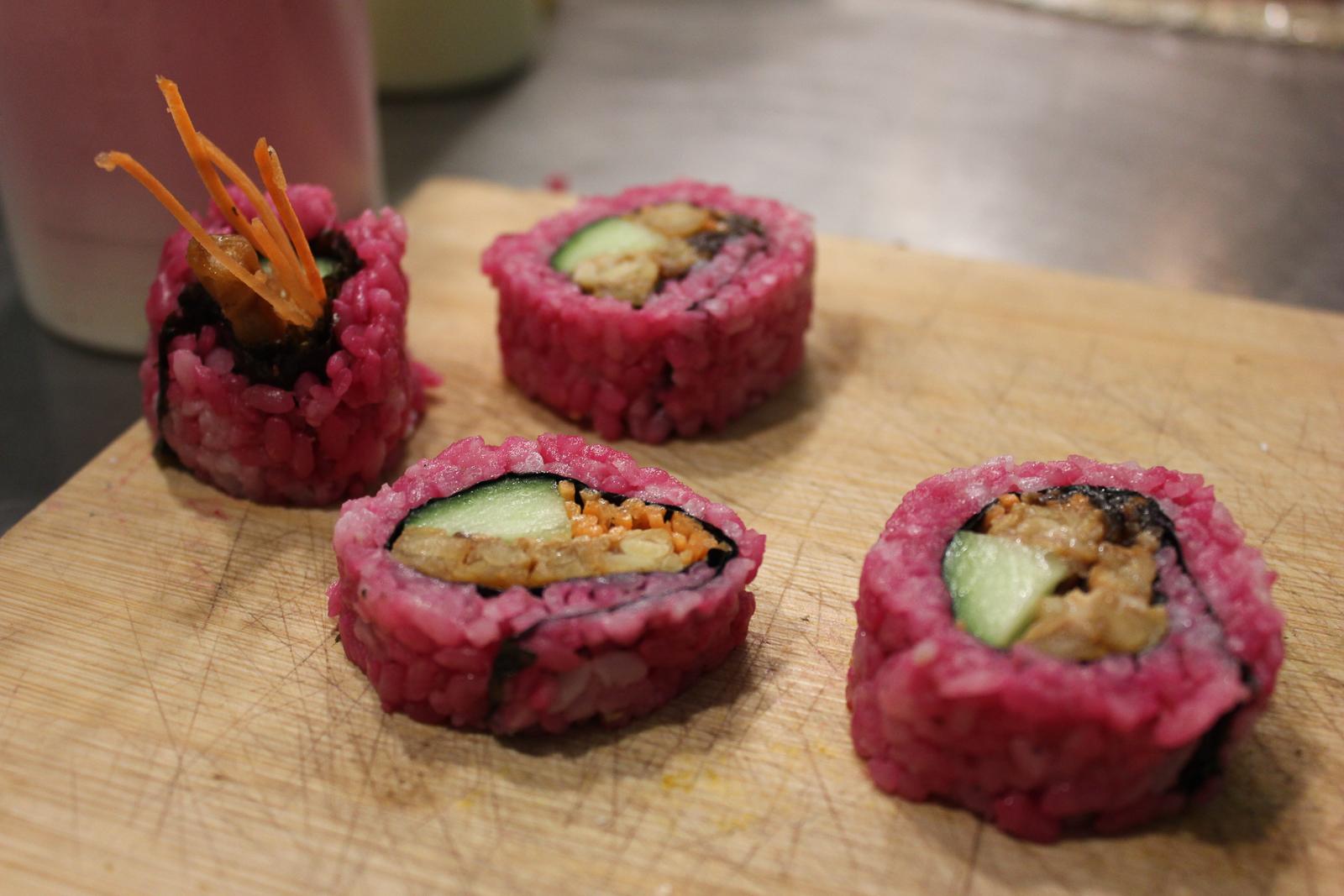 plant based sushi amsterdam