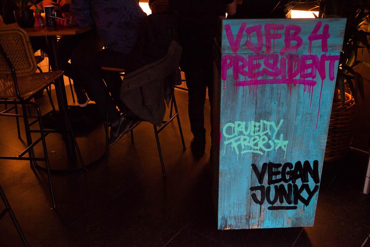 vegan junk food bar