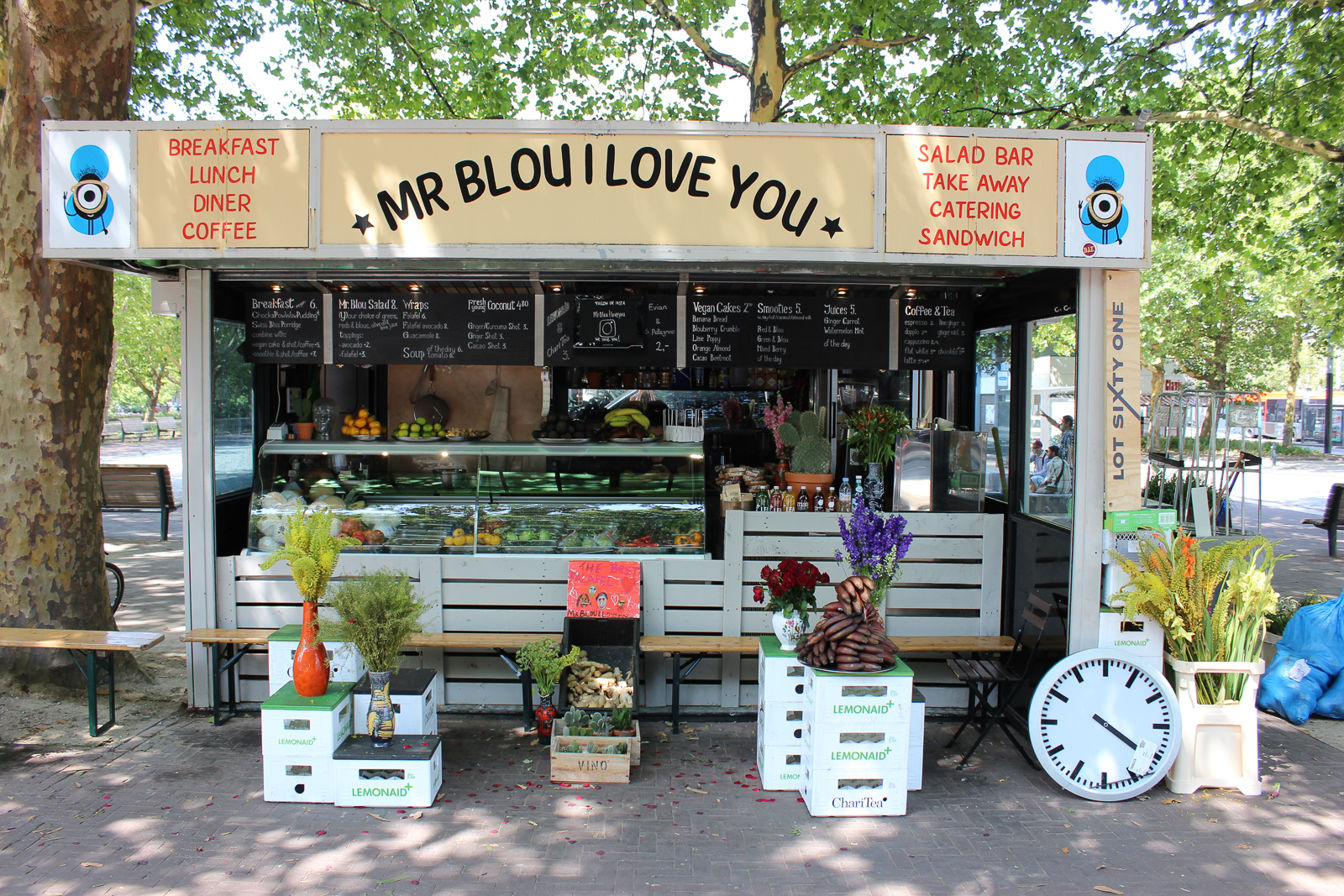 mr blou i love you