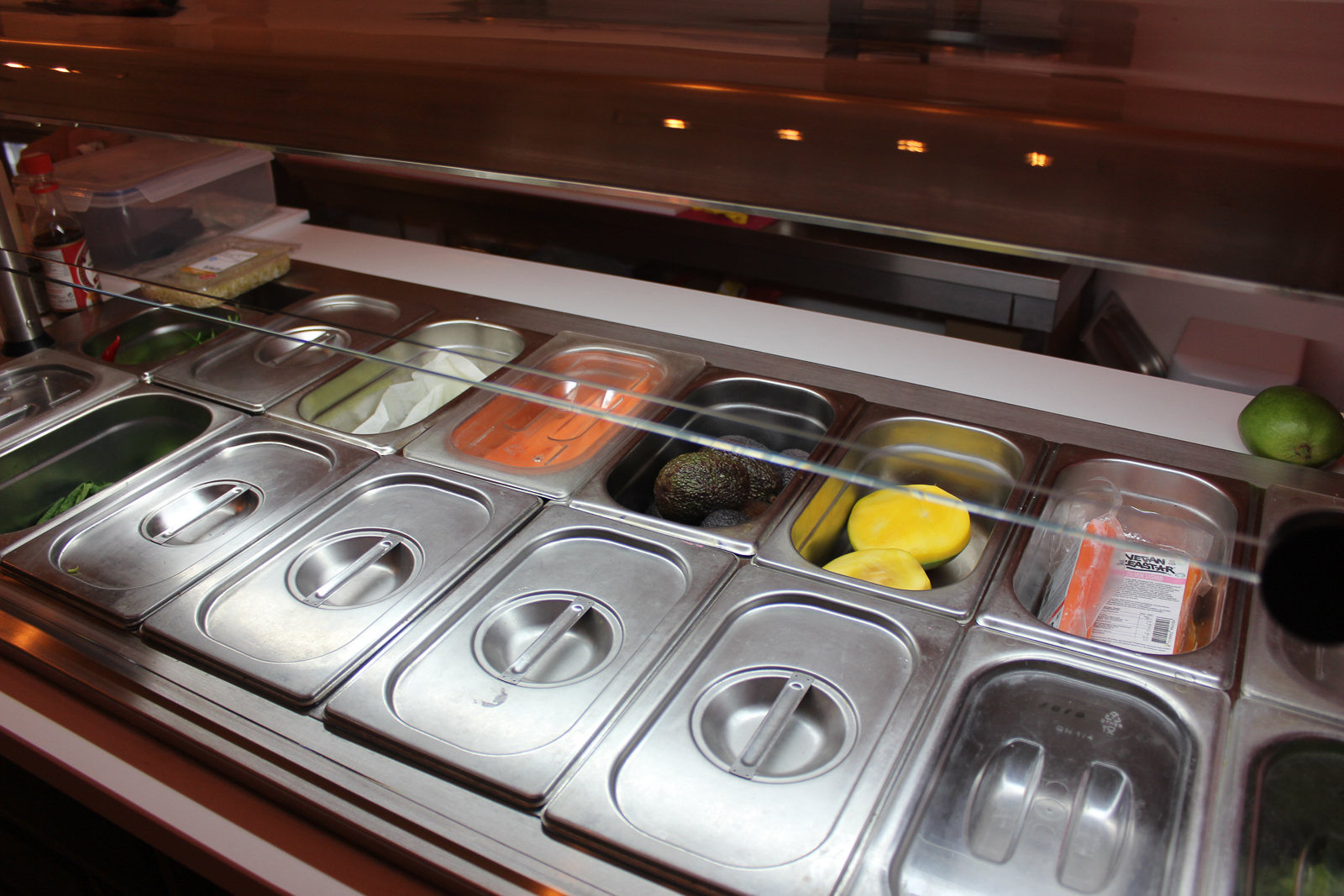 vegan sushi bar