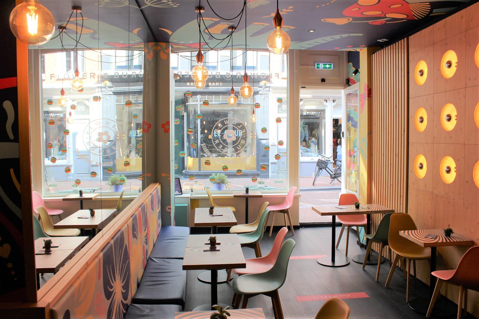 flower burger amsterdam